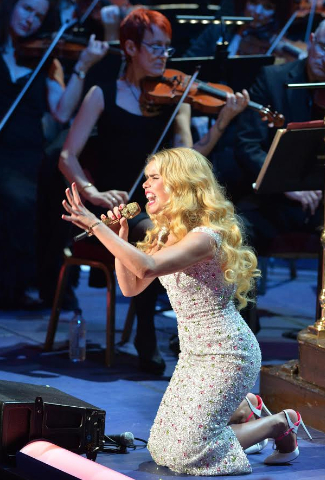 Paloma Faith at the BBC Proms