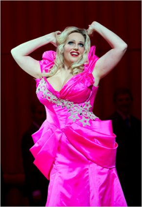 Dutch Soprano Eva Marie Westbroek is the titular Anna Nicole
