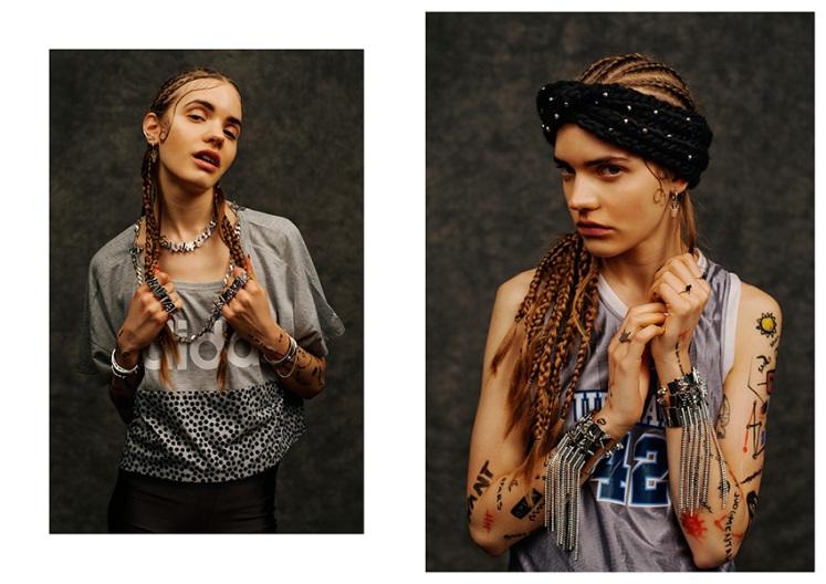 Silver cuffs by Maria Francesca Pepe