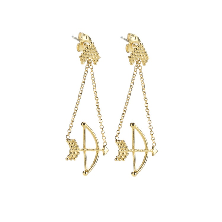 Braveheart Bow and Arrow Earrings