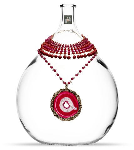 The 'Orchida & Corioca' Necklace by Rosantica Milano.