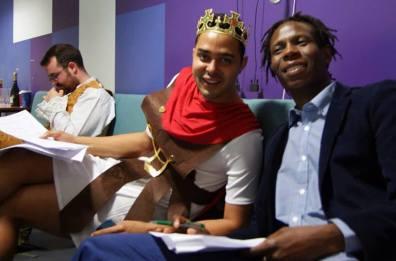King Castel (Henrique Nobre) & The Handsome Prince