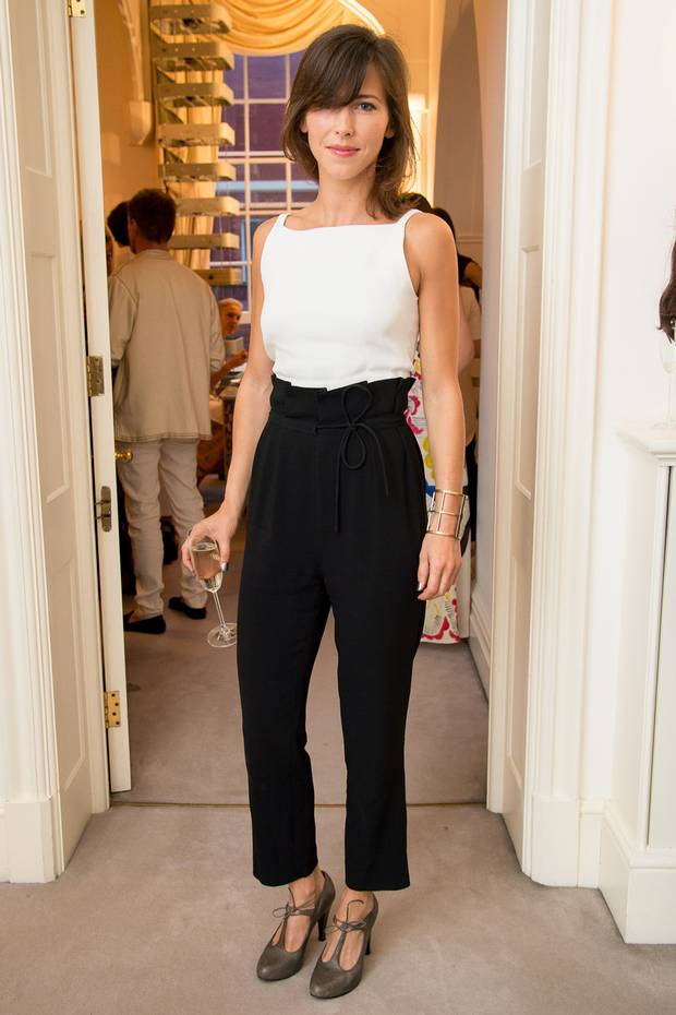 Sophie Hunter at a fancy French dinner Event earlier this year