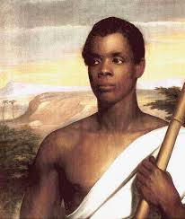 Sengbe Pieh, a member of Sierra Leone's Poro Soceity and on of the first leaders of Amistad Rebellion