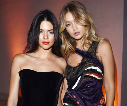 20 year old Gigi Hadid and Kendall Jenner